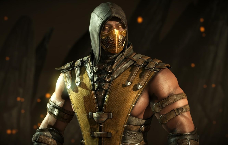 Wallpaper Scorpion Ninja Mortal Kombat 10 Mortal Kombat X