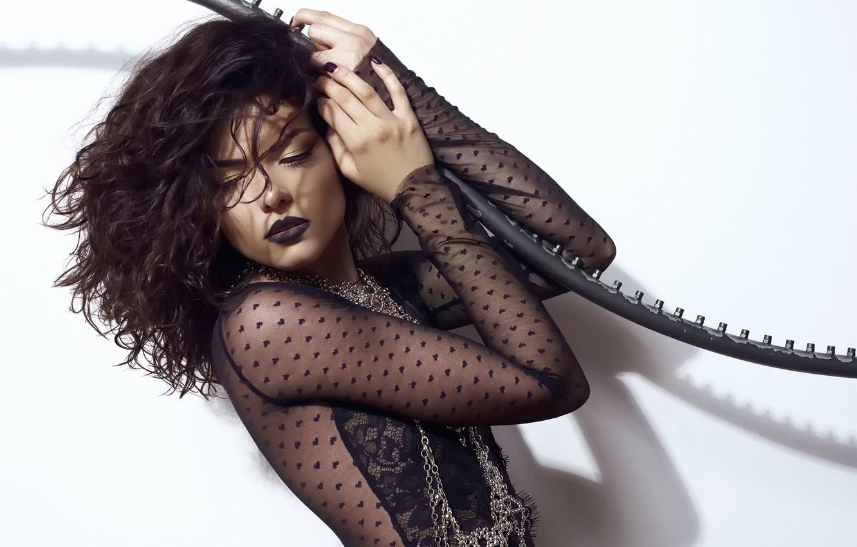 Photo wallpaper makeup, Bianca, sexy, glamour, Daniel Ilinca
