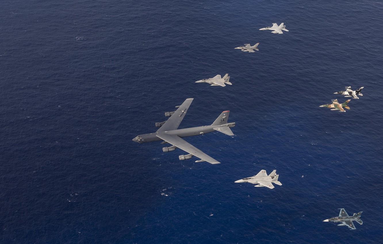 Photo wallpaper flight, aviation, army, aircraft