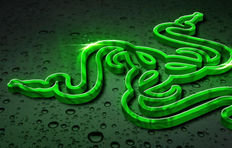 Wallpaper Art, Green, Black, Logo