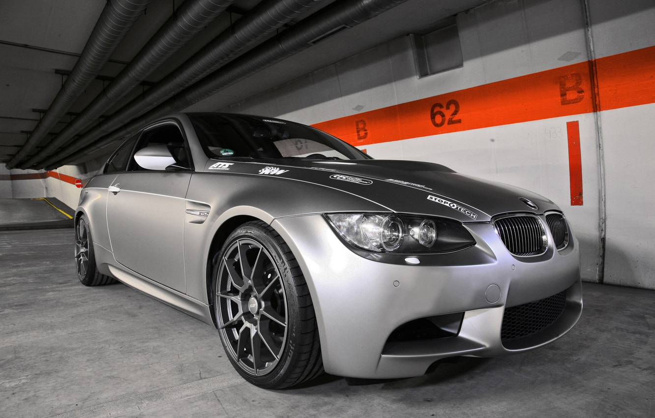 Photo wallpaper BMW, Stoptech, Europe, by APP