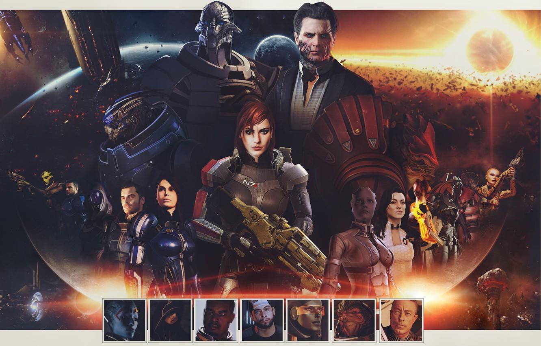 Wallpaper Mass Effect Shepard Characters Omega Jack Kasumi