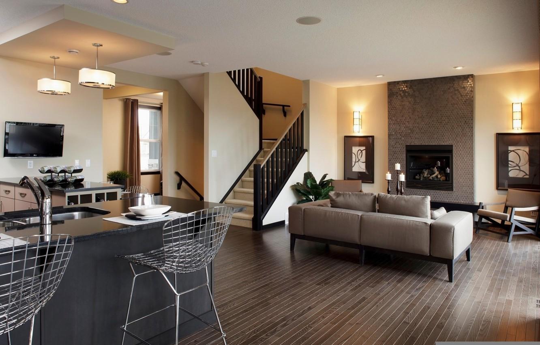 Photo wallpaper design, house, style, Villa, interior, living space
