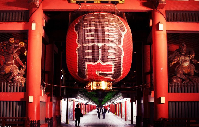 Wallpaper Red Japan Lantern Tokyo Japan Statues Gate