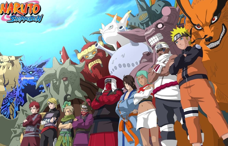 Photo wallpaper game, Naruto, anime, ninja, asian, manga, shinobi, japanese, Naruto Shippuden, Son Goku, Kyuubi, jinchuuriki, live …