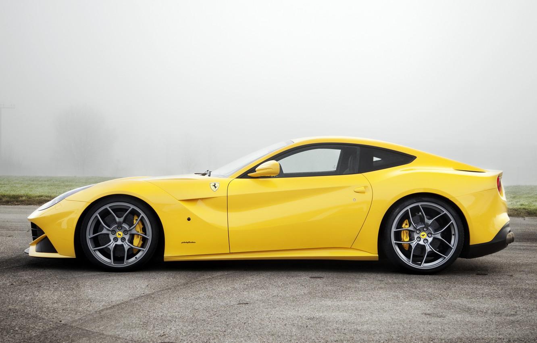 Photo wallpaper fog, Ferrari, Beauty, F12berlinetta