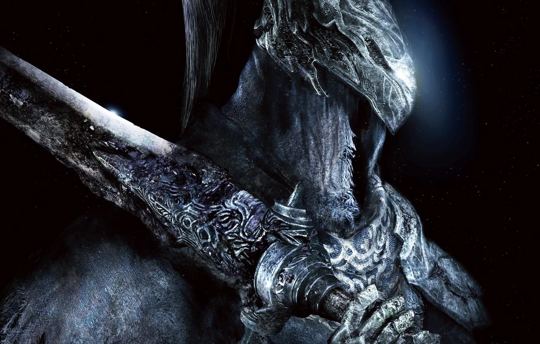 Photo wallpaper Armor, Sword, Armor, Knight, Dark Souls, Namco Bandai Games, From Software