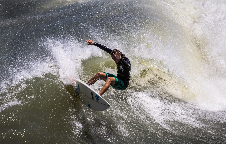 Photo wallpaper wave, people, Board, surfing