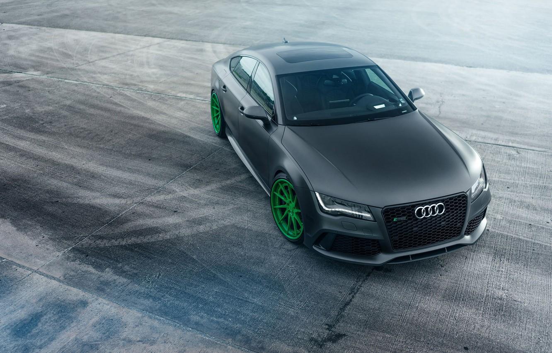Photo wallpaper car, Audi, tuning, RS7