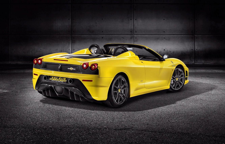 Photo wallpaper car, auto, Machine, Ferrari, Scuderia Spider 16M