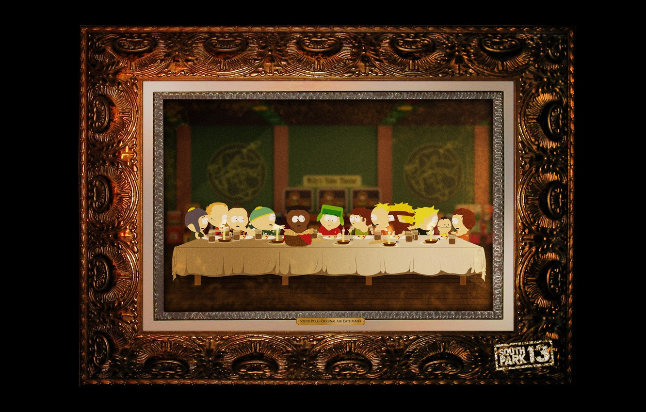Photo wallpaper Picture, South Park, The last supper