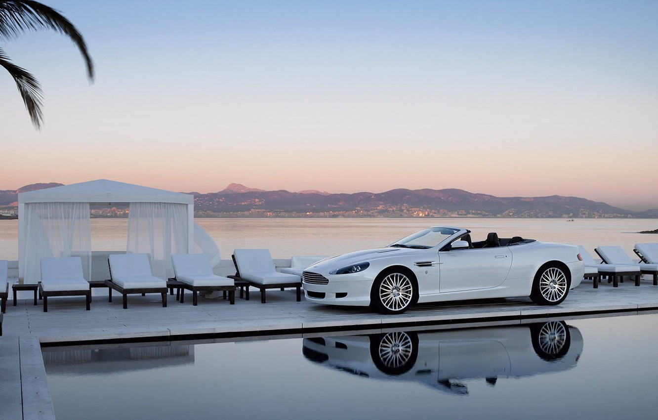 Photo wallpaper white, pool, Bentley