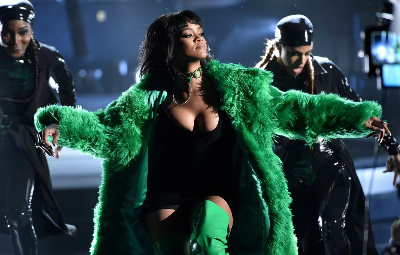 Photo wallpaper Rihanna, Show, 2015, Music Awards, iHeart Radio