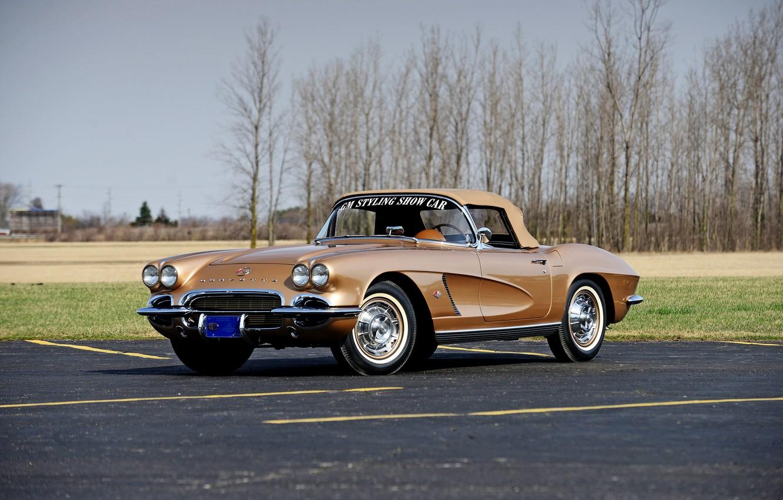 Photo wallpaper Corvette, Chevrolet, Chevrolet, Corvette, 1962