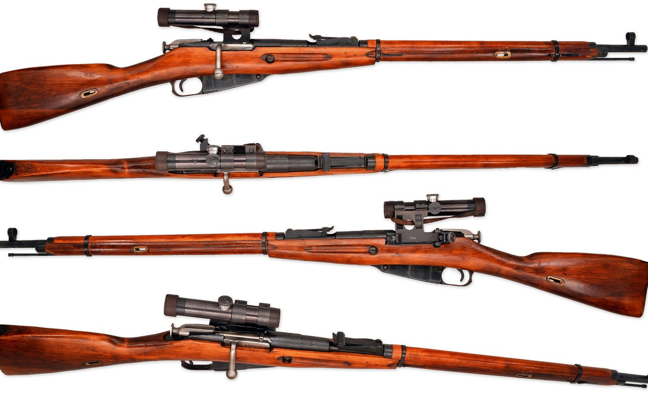 Photo wallpaper weapons, background, rifle, sniper, Mosin, M91/30, store