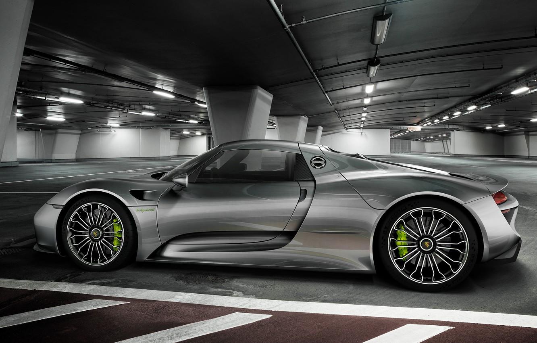Photo wallpaper Porsche, Spyder, 918, 2015