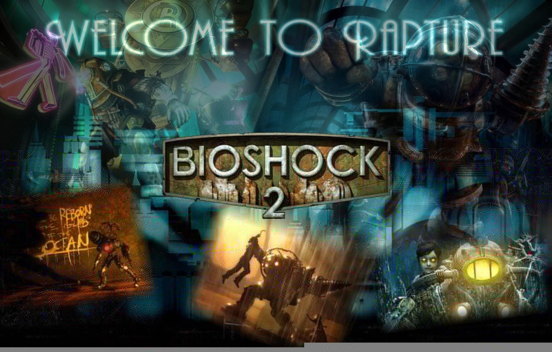 Wallpaper Logo Bioshock Big Daddy Bioshock 2 Little