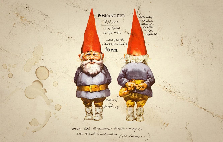 Photo wallpaper text, figure, dwarf, description