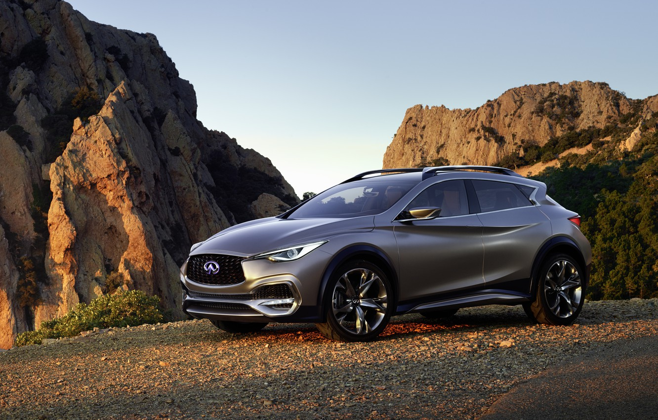 Photo wallpaper Concept, Infiniti, infiniti, 2015, QX30