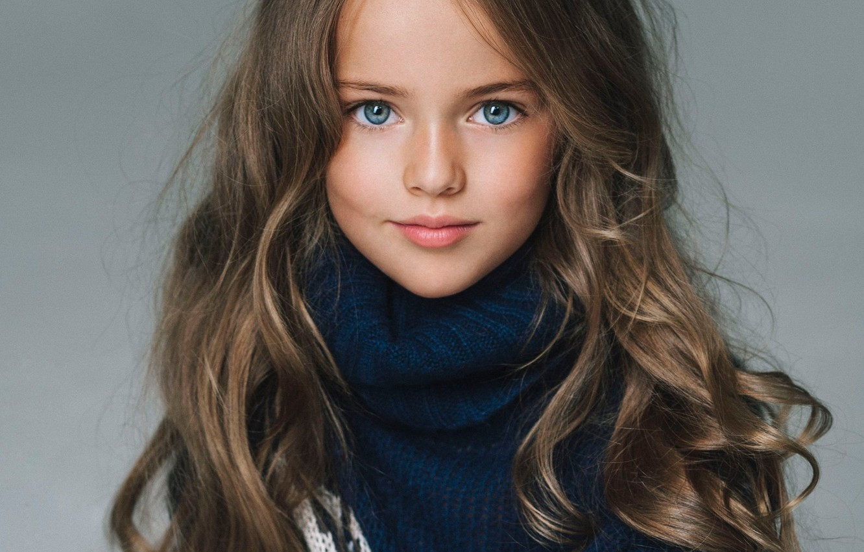 Photo wallpaper model, portrait, girl, sweater, young, Kristina Pimenova