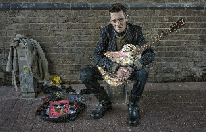 Photo wallpaper music, people, guitar