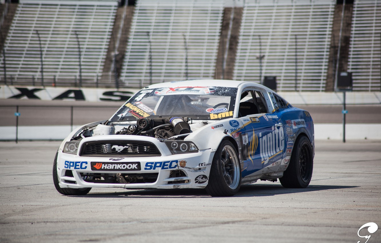 Photo wallpaper Mustang, Ford, Ford, Mustang, Formula D