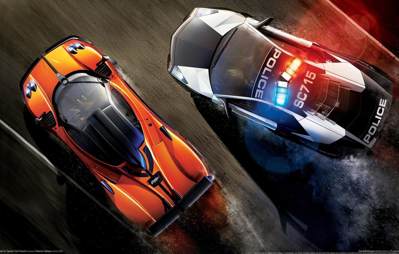 Обои hp, hot pursuit, Need for speed hot pursuit. Игры foto 6