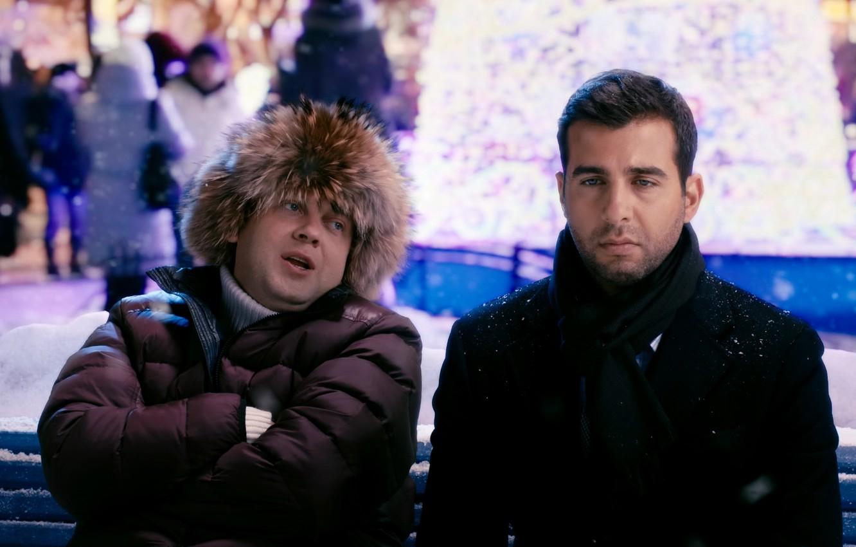 Photo wallpaper movie, the film, New year, Sergei Svetlakov, Christmas tree 2, Ivan Urgant