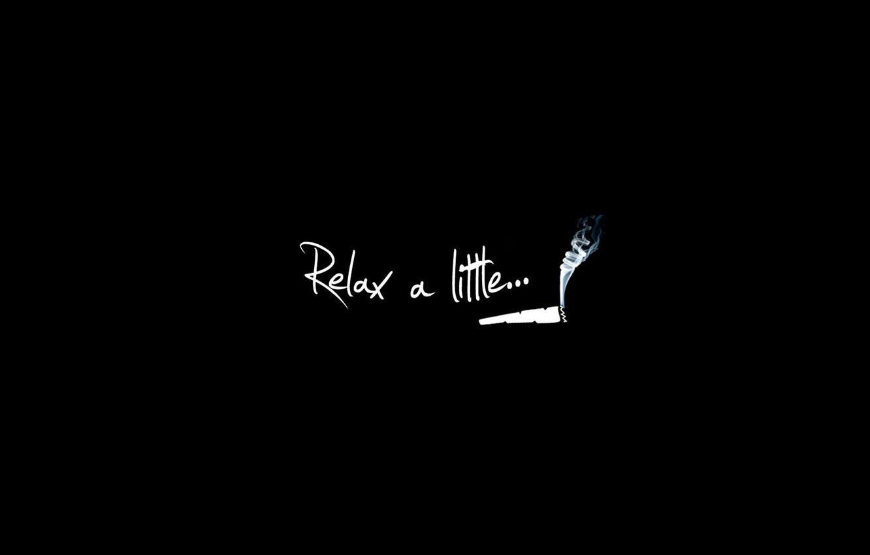Photo wallpaper smoke, break, relax, relax a little, a cigarette, cant