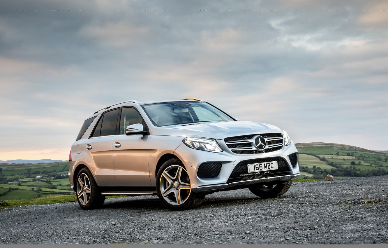 Photo wallpaper Mercedes-Benz, Mercedes, AMG, crossover, AMG, GLE-Class, W166