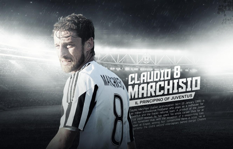 Photo wallpaper wallpaper, sport, stadium, football, player, Juventus FC, Juventus Stadium, Claudio Marchisio