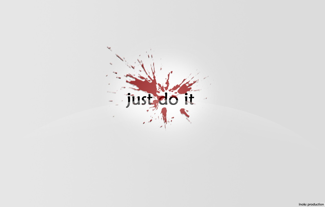 Wallpaper Blot Nike Just Do It Images For Desktop Section