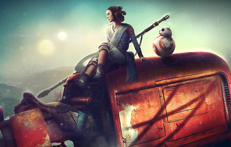 Wallpaper Girl Robot Star Wars Art Star Wars The Force