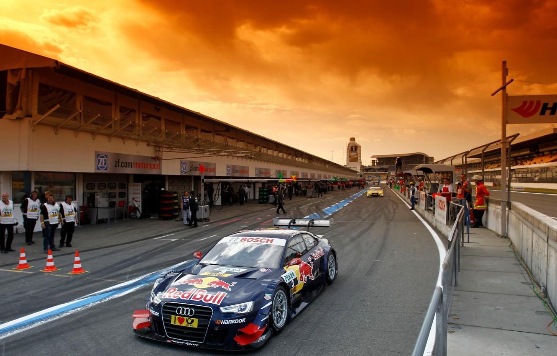 Photo wallpaper machine, the sky, asphalt, machine, Audi, Audi, sport, tuning, beauty, cars, car, race, spoiler, race, …