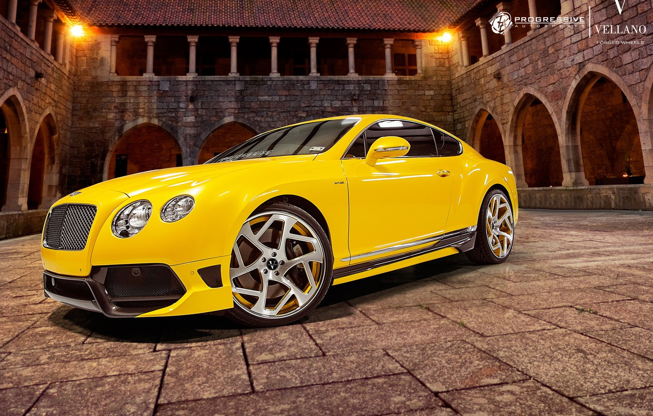 Photo wallpaper Bentley, Continental, Vellano