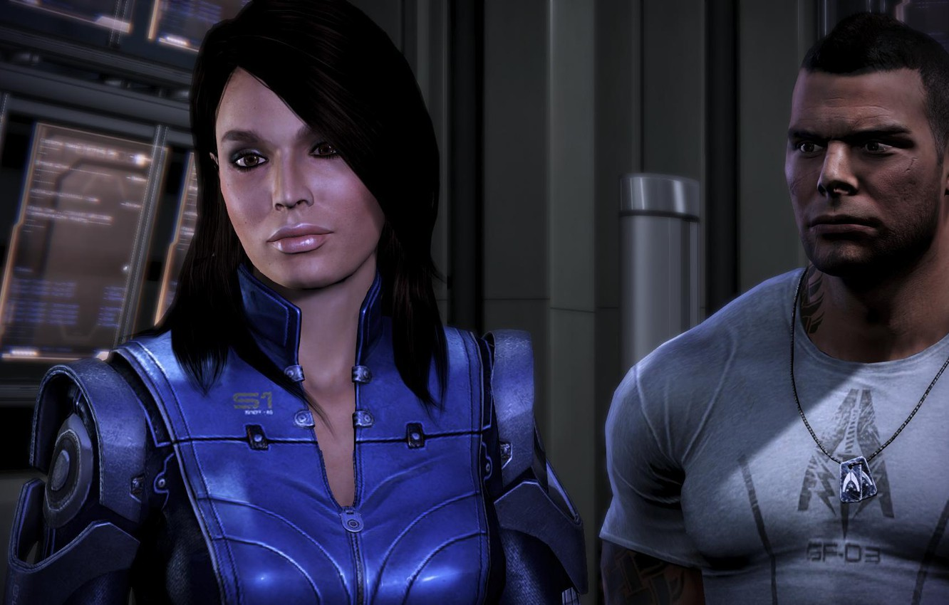 Wallpaper James Mass Effect Mass Effect Ashley Williams Images
