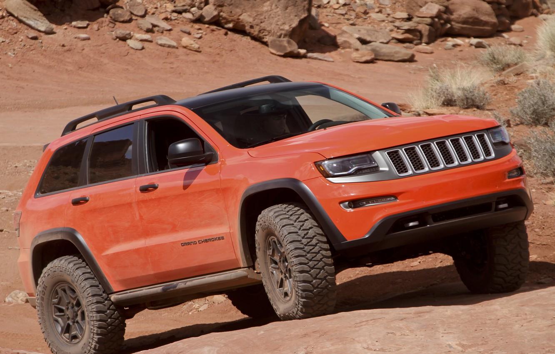 Photo wallpaper Concept, jeep, SUV, Jeep, Grand Cherokee, Trailhawk II