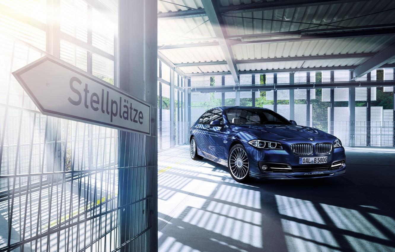 Photo wallpaper BMW, BMW, sedan, F10, Sedan, Alpina, 5-Series
