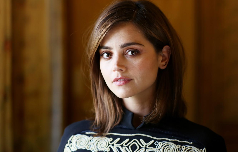 Photo wallpaper girl, actress, photoshoot, Doctor Who, 2016, Jenna Coleman, Jenna Coleman, The Telegraph, Summer TCA 2015