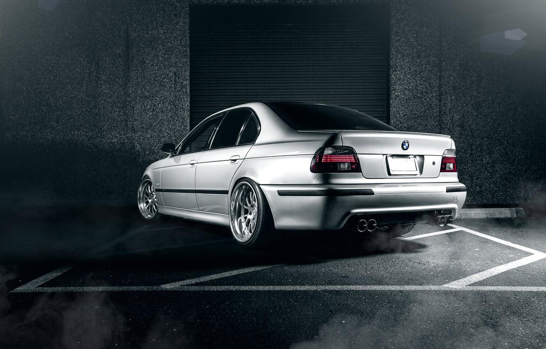 Photo wallpaper BMW, sedan, metallic, tuning, 5 series, bmw m5, e39