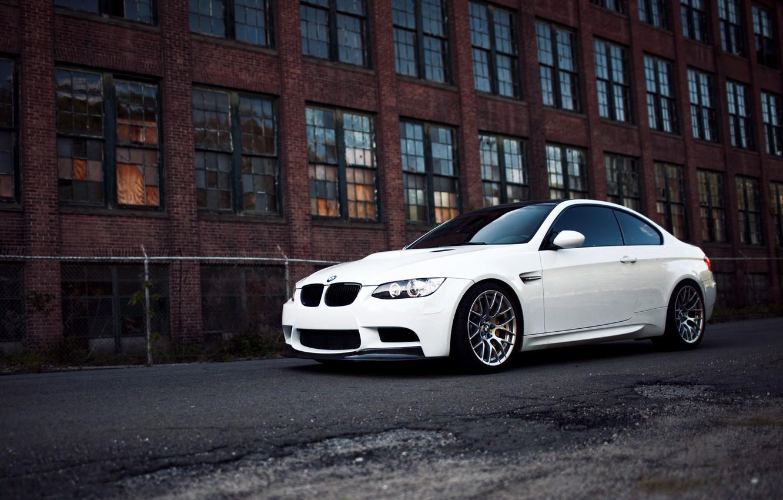 Photo wallpaper white, bmw, BMW, white, e92