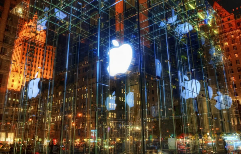 Photo wallpaper Apple, iPhone, iPod, Apple, Mac, Shop, the Premier League