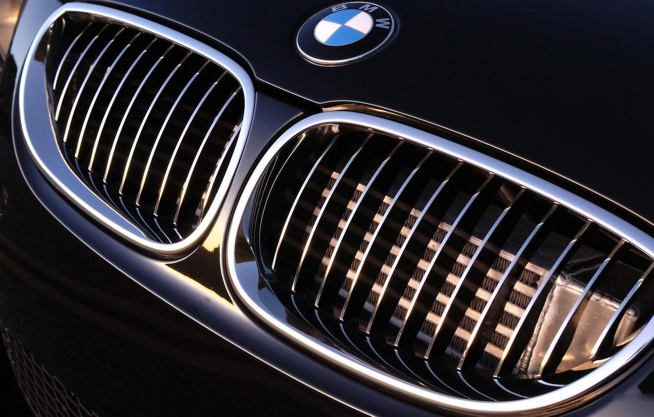 Photo wallpaper bmw, grille, Auto, cars