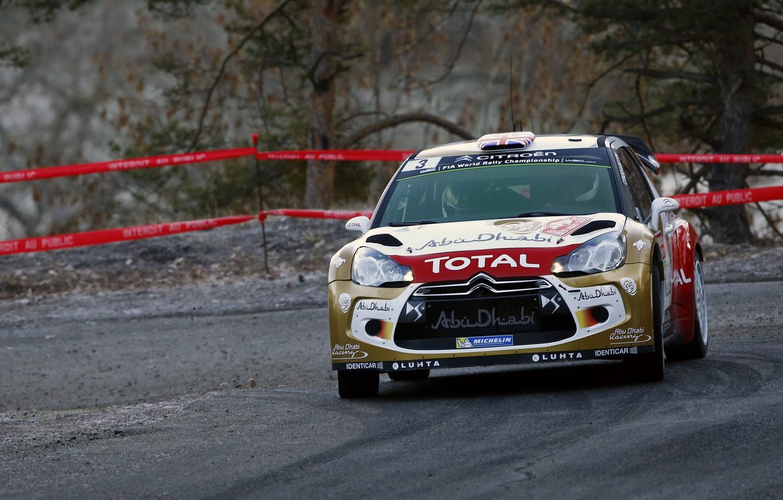 Photo wallpaper Turn, Citroen, DS3, WRC, Rally, Rally, Monte Carlo, Kris Meeke