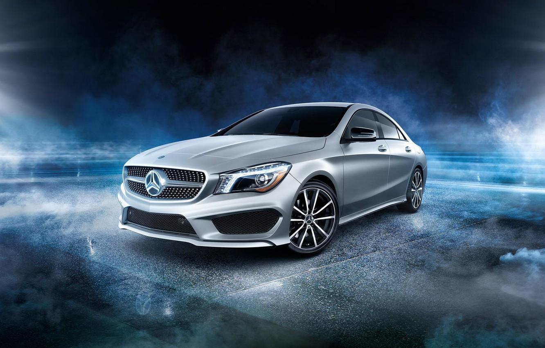 Photo wallpaper Mercedes-Benz, AMG, CLA
