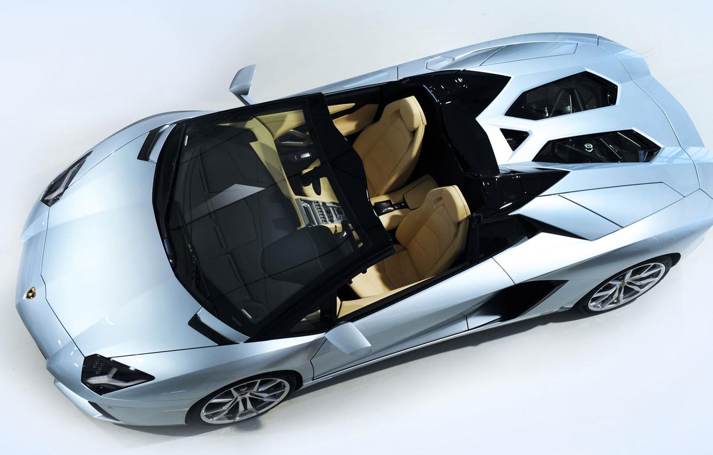 Photo wallpaper Roadster, Lamborghini, cabrio, Aventador, LP 700-4