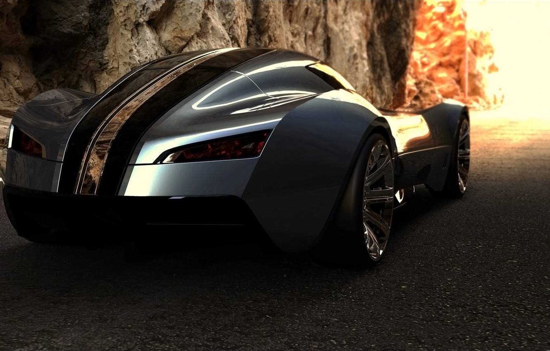 Photo wallpaper Concept, Bugatti, supercar, Aerolithe