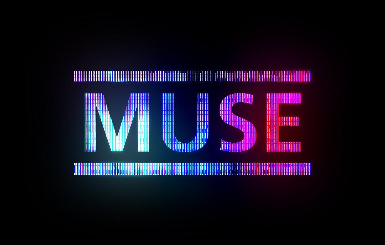 Photo wallpaper music, the inscription, Muse