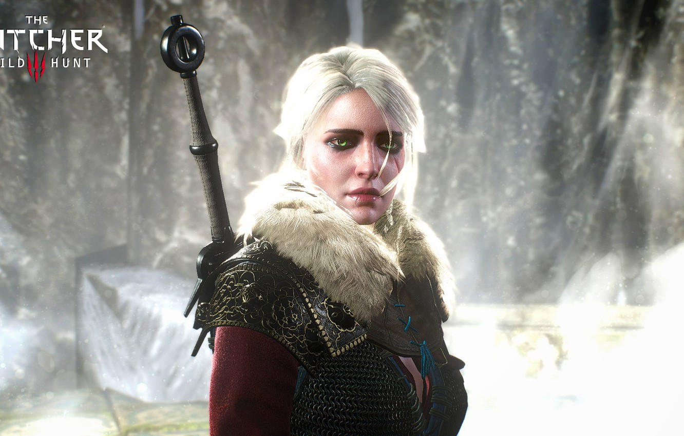 Wallpaper Girl Sword The Witcher 3 Wild Hunt Wild Hunt