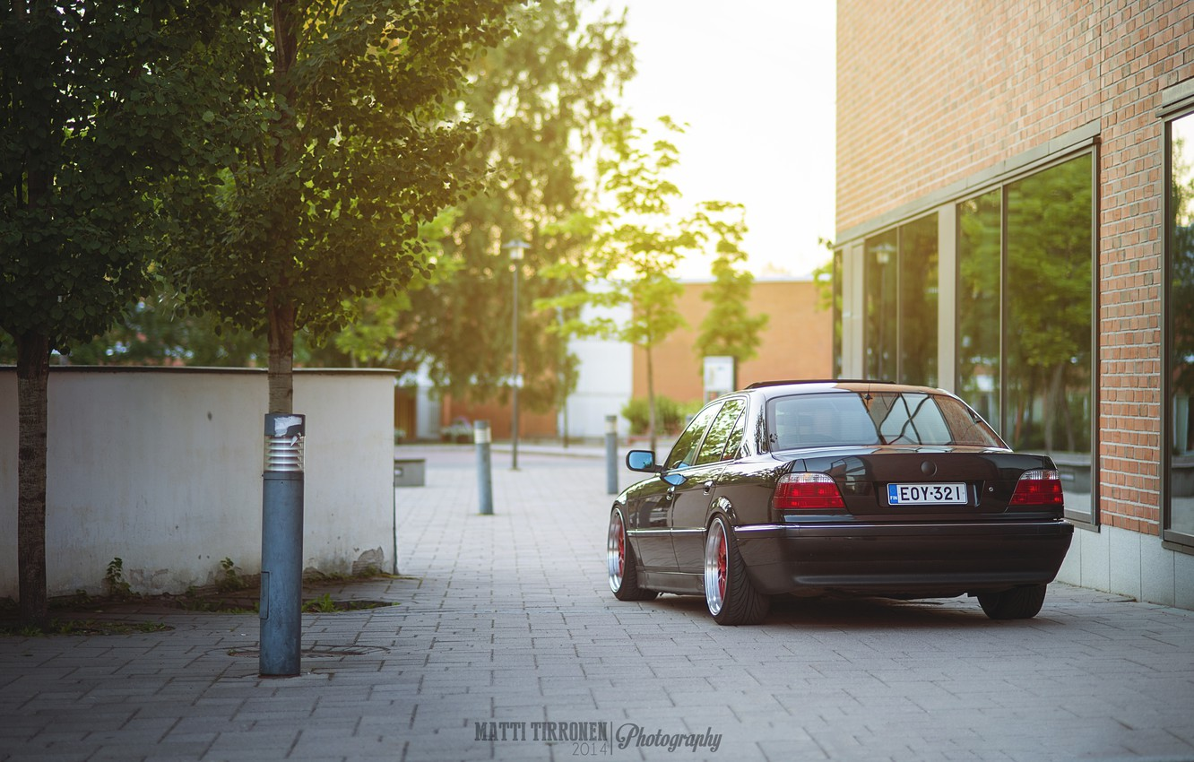 Photo wallpaper tuning, BMW, BMW, tuning, Boomer, stance, stens, E38, E38